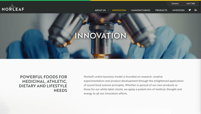 Norleaf Foods Innovation