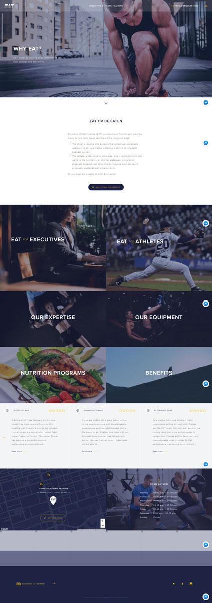 EAT Gym Training